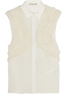Jason Wu Ruffled silk top