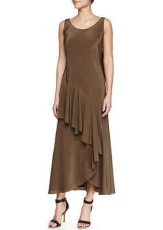 Jason Wu Silk Bias Cascade Slip Dress