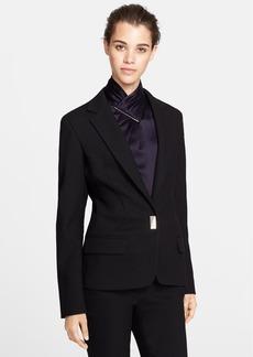 Jason Wu Single Button Wool Blend Jacket