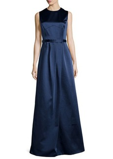 Jason Wu Sleeveless Ball Gown with Satin Bodice