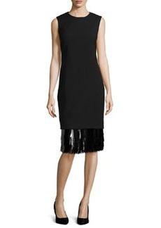 Jason Wu Sleeveless Sheath Dress, Black