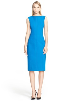 Jason Wu Sleeveless Stretch Wool Fitted Sheath Dress (Nordstrom Exclusive)