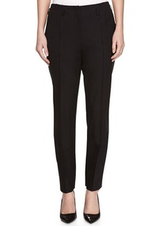 Jason Wu Slim Bi-Stretch Wool Pants