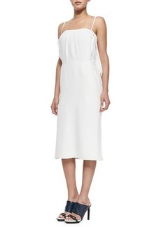 Jason Wu Slip Dress W/ Split Blouson Back
