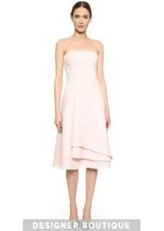 Jason Wu Strapless Flounce Dress