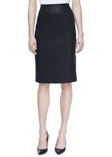 Jason Wu Tweed No-Waist Pencil Skirt