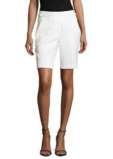 Jason Wu Twill Utility Shorts, Ivory