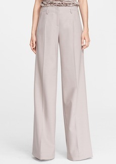 Jason Wu Wide Leg Stretch Crepe Trousers