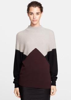 Jason Wu Wool Blend Intarsia Sweater