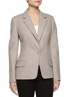 Jason Wu Wool Crepe One-Button Jacket