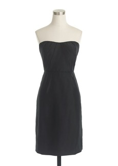 Alexia dress in slub silk