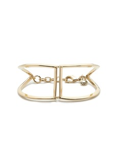 Angular cuff bracelet