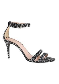 Ankle-strap high-heel sandals