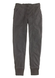 Ankle-zip cargo pant