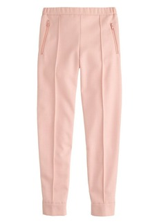 Ankle-zip pant in pink