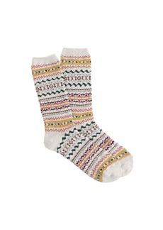 Anonymous Ism Fair Isle socks