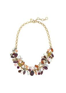 Asymmetrical stone necklace