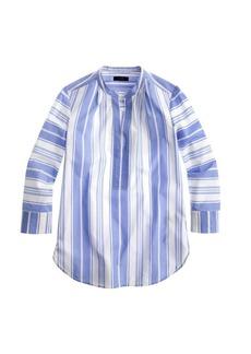 Awning-striped tunic