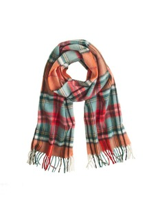 Begg & Co.™ lambswool plaid scarf