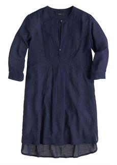 Bib tunic in gauze