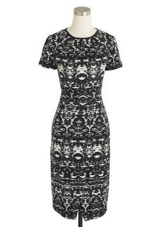 Blurred ikat dress