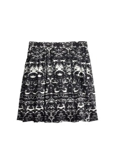 Blurred ikat skirt