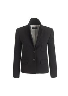 Bonded crepe jacket