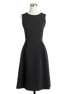 Bonded herringbone dress