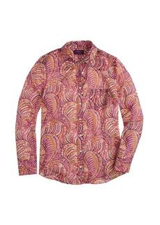 Boy shirt in Liberty harajuku paisley