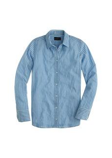 Boy shirt in tidewater stripe