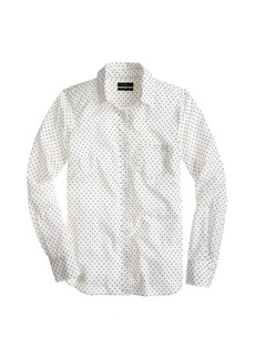 Boy shirt in triangle dot