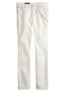 Broken-in boyfriend jean in white