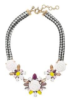 Burnished roses necklace