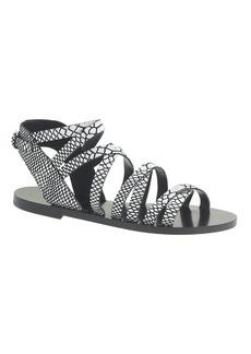 Callista embossed gladiator sandals