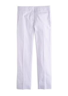Campbell capri pant in stretch cotton
