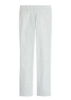 Campbell capri pant in triangle print