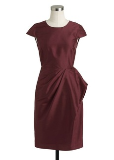 Carson dress in silk dupioni