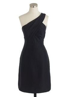 Cassie dress in slub silk