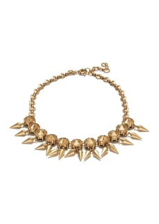 Cast stone necklace