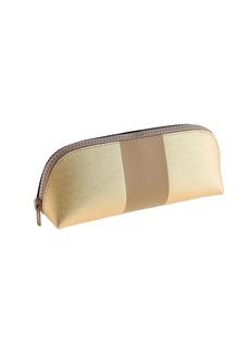 Center-striped pencil pouch