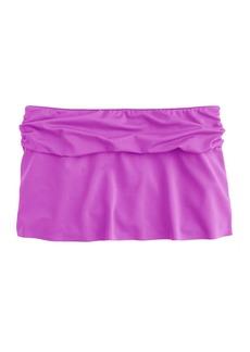 Cinched beach skirt