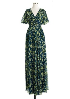 Claire dress in floral chiffon