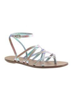 Clara iridescent sandals