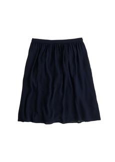 Classic crepe skirt