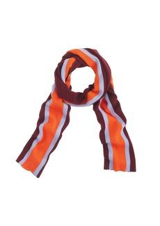 Classic-stripe scarf