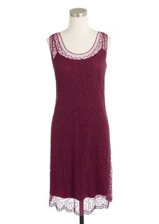 Collection beaded shift dress