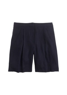 Collection bermuda short in Italian linen