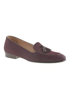 Collection Biella calf hair tassel loafers