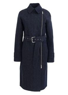 Collection bonded denim coat