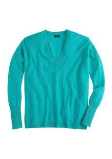 Collection cashmere boyfriend V-neck sweater